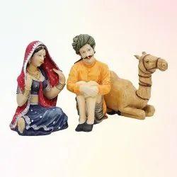 Rajasthani Pair Statue