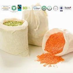 Cotton Reusable Natural Bag