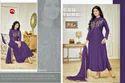 Printed Full Sleeve Moof Salwar Suit Fabric