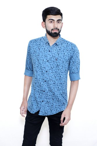 393cee90 Cotton Male Printed Casual Shirts, Rs 650 /piece, Myra Enterprise ...