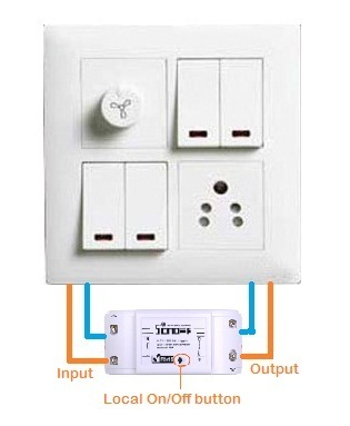WiFi Home Automation - Sonoff T1 Smart Wall Switch Wholesale Trader