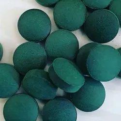 Green Organic Spirulina Tablet, Prescription, Packaging Type: Bottle