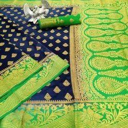 Nylon Silk Saree