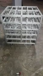 Aluminum First In First Out Rack System