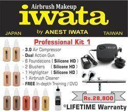 Iwata Airbrush Kit >> Professional Airbrush Makeup Kit 1