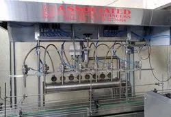 5000 BPH Vegetable Oil Filling Machine