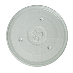 Microwave Glass Turntable Plate, Size: 9.5 Cm