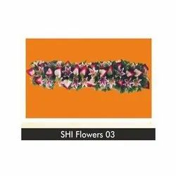 SHI Polyester Wall Decoration Artificial Flower