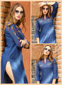 Denim Kurti For Party Wear