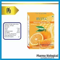 Bvit-C Dextrose, Suger Zinc Vitamin C B VIT-C Energy Drink, for Vitamin Deficiency, Packaging Size: 100 gm