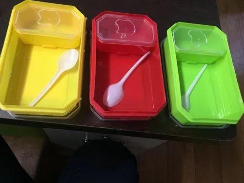 9c24de10b9 Plastic School Lunch Box at Rs 144 /dozen | Odhav | Ahmedabad | ID ...