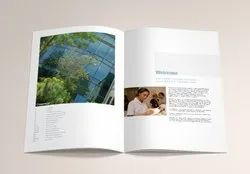 Corporate Brochure Printing, Dimension / Size: W8.2 X H11.6 Inch