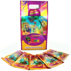 5 Pouches of Herbal Gulal Gift Box (500 Gm), Holi Gulal Box