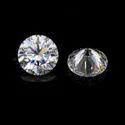 Round Cut DEF Moissanite Diamond