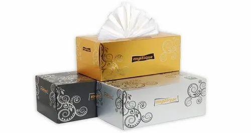 180 sheets box facial tissue