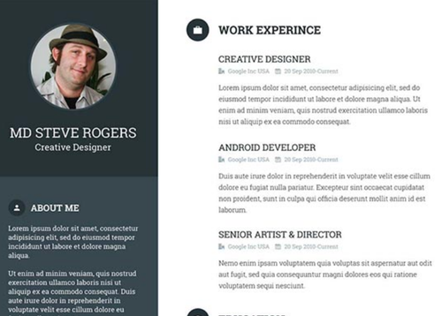 resume template templates designing service - Resume Templates For Designers