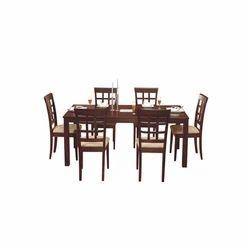 Brown Godrej Designer Dining Table