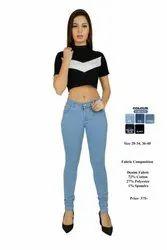 Demin Women Basic Denim Jeans