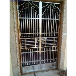 Polished SS304 Decorative Stainless Steel Door
