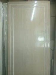 Wooden Texture Casement PVC Doors, Interior, Plain Glossy