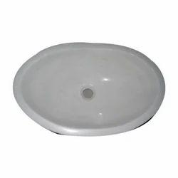 White Oval Wash Basin