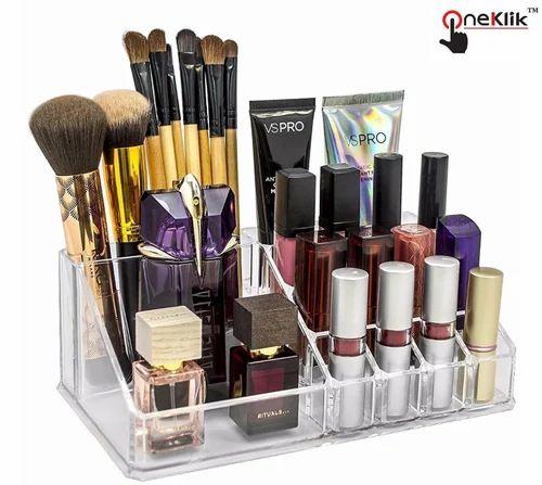 Multi Grid Acrylic Cosmetic Makeup Organiser