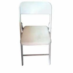 HUKAM White Hercules Folding Chairs