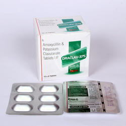 Amoxycillin Clavulanate 375 mg Tablets