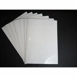 White Transparent Glossy Adhesive Sticker Printing