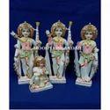 Ram Darbar White Makrana Marble Statue