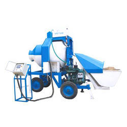 Reversible Mixer With Diesel Engine