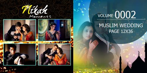 Muslim Wedding Page Volume 12x36 0002 Dgflick Solutions