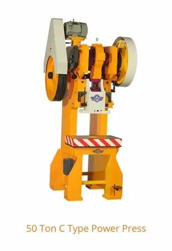50 Ton C Type Power Press Machine