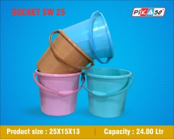 SW 25 PH Plastic Bucket