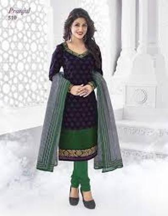 Party Wear Embroidered Stitched Suit