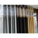 Printed Fancy Silk Curtain