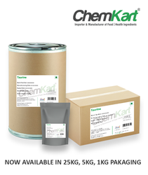 White Powder L-Taurine, Grade Standard: Food Grade, Packaging Type: Text