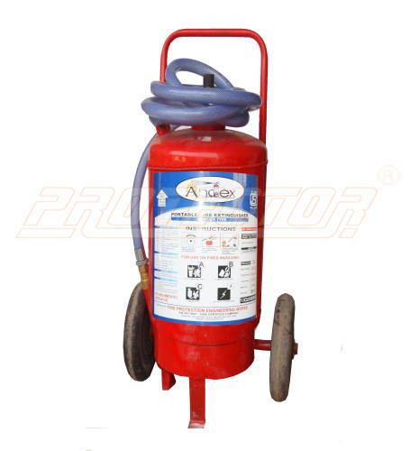 Fire Extinguisher DCP Type 50 Kg Outside CO2 Bottle Andex
