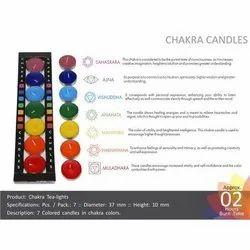Chakra Tealight Candles