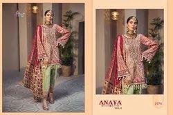 Shree Fab Anaya Vol 9 Georgette Net Heavy Embroidery Salwar Suit Pakistani