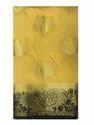 Designer Golden Zari Work Nylon Silk Saree