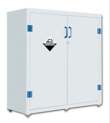 Light Grey PRIME PP Acid and Corrosive Storage Cabinet, Size/Dimension: H*W*D/MM 1650*1090*460