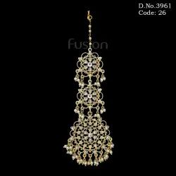 Antique Filigree Pearl Tikka