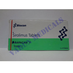 Rapacan 1 mg Sirolimus, Packaging Type: Strip