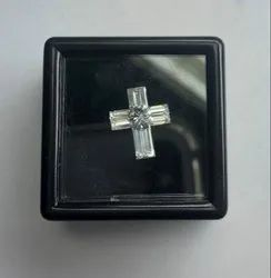 Cross Shape Pie Cut CVD / HPHT Diamond