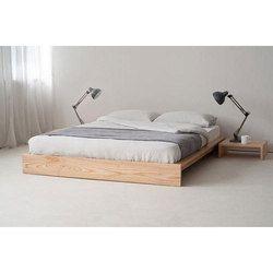 Jenikasdecor Ankle Platform Wooden Bed, Size: 7 x 6 feet