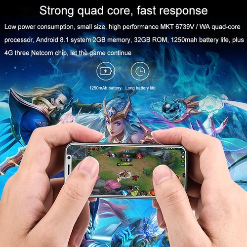 MELROSE 2019 Android Smart Phone, Fingerprint, 2GB, 32GB, 64GB, Bluetooth,  WiFi, GPS, 4G
