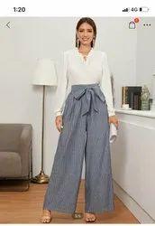 Casual Wear Women Plazzo Pants