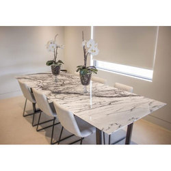 timeless design 6df2a 4d442 Marble Dining Table Set