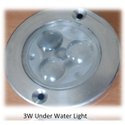 3W LED Underwater Light